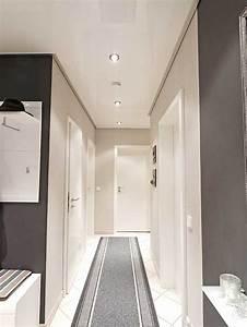 Decke Verkleiden Möglichkeiten : wei e flurdecke in hochglanz kundenbeispiele plameco siegen ~ Watch28wear.com Haus und Dekorationen
