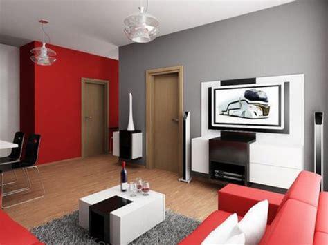 Casa Colore by Pareti Tortora E Rosso Decorazioni Per La Casa
