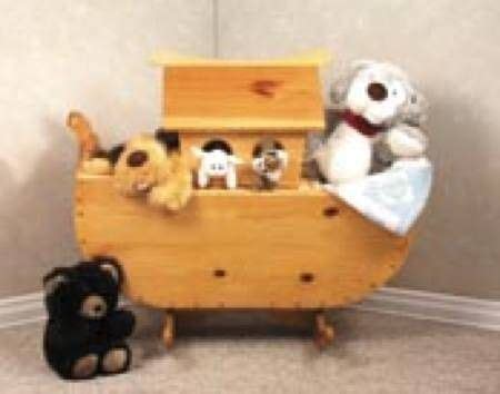 noahs ark cradletoy box woodworking plan
