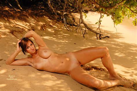 Lying Back Naked On Beach November Voyeur Web