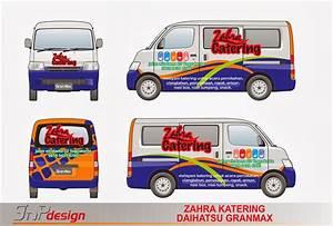 Gnp Design  Body Stripe Daihatsu Granmax Zahra Catering