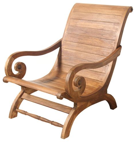 shop houzz bhome teak furniture bali lounger lazy chair