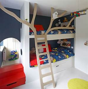 Stupefying bunk bed ladder only decorating ideas images in for Bunk bed decorating ideas kids