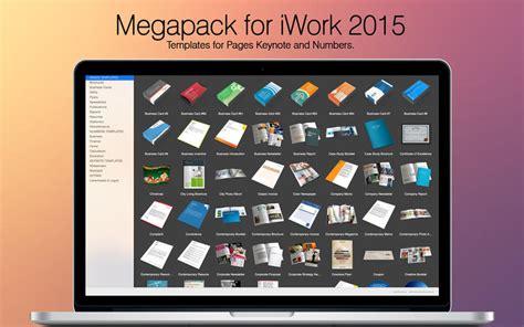 megapack  iwork  keynote numbers pages templates