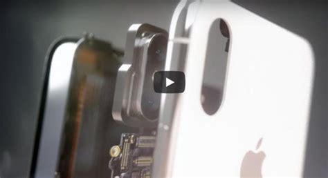 iphone x rozebrany na części apple umieściło w nim