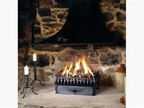 open flame gas l spanish basket type open gas fire reduced for quick sale