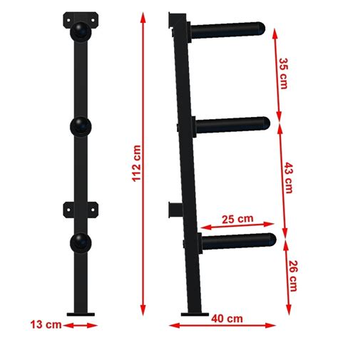 wall mounted olympic weight rack kg load rating bb  sams fitness