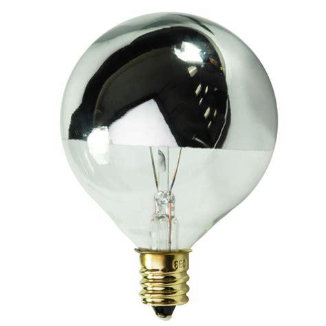 light bulbs awful silver tipped globe candelabra bulb