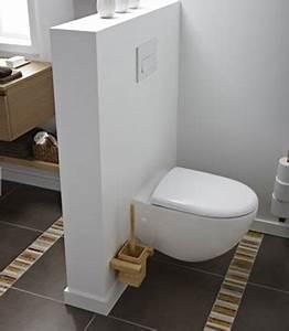 amenagement toilettes dans salle de bain nos conseils With quelle couleur dans les wc 3 conseil deco salle de bain et toilette