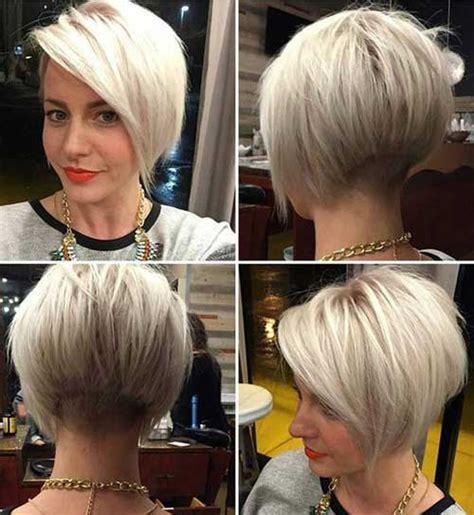 short colored hair ideas   styles short