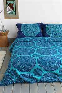 magical thinking raja medallion duvet cover
