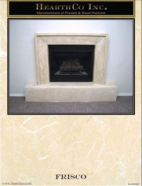 frisco fireplace and frisco cast fireplace mantel mantle surround