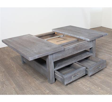 table basse carree bois et fer forge 28 images table basse carr 233 e avec allonge en ch 234