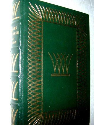 leaves  grass easton press leatherbound collectors