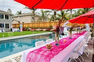 Swimming Pool Dekoration : how to plan outdoor baby shower party free printable baby shower invitations templates ~ Sanjose-hotels-ca.com Haus und Dekorationen
