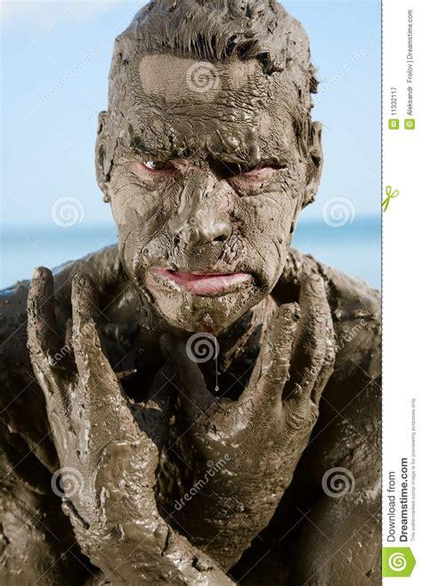 dirty man stock image image  dirt primitive heaven