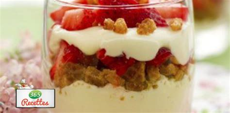 dessert fraise mascarpone speculoos recette facile verrines fraises sp 233 culoos et mascarpone