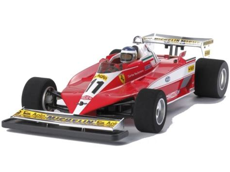 The ferrari 312t3 made its racing debut in the 1978 south african grand prix. Zdalnie sterowany Ferrari 312T3 F104W Tamiya 47374 7630681056 - Allegro.pl