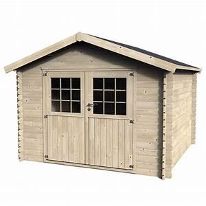 Abri De Bois : abri de jardin en bois 9 99 m ep 28 mm flover plantes ~ Melissatoandfro.com Idées de Décoration