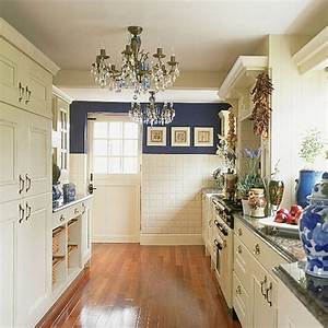 blue and white kitchen kimsta 75 flickr With kitchen colors with white cabinets with wall art blue