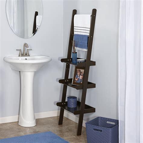 bathroom storage rack 11 best bathroom ladder shelves for toilet storage reviews