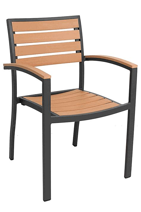 florida seating commercial aluminum teak outdoor