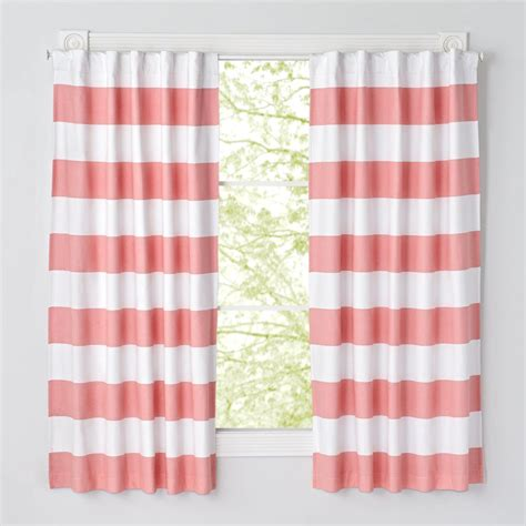 pink and white curtains pink striped curtains curtain menzilperde