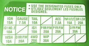 2007 Toyota Tacoma Fuse Box Diagram  U2013 Auto Fuse Box Diagram