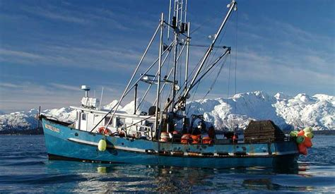Longline Fishing Boat Design by Commercial Fishing Glacier Bay National Park Preserve