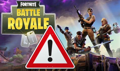 fortnite warning fans told      epic games