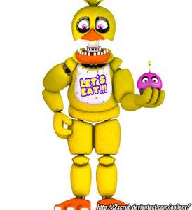 Unwithered F-NaF Chica Full Body
