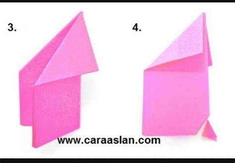 membuat origami bunga sakura  mudah beserta
