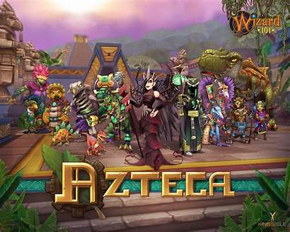 Wizard101 Wizard Azteca 101 Location Spells Gear