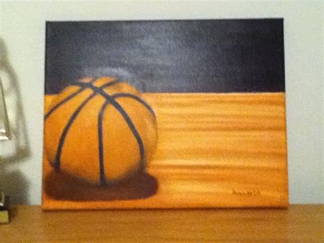basketball painting paintings pinterest