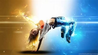 Dancing Dance Wallpapers Hop Hip Handstand Backgrounds