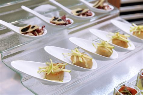 canapes on spoons recipes spoons articles easy weddings