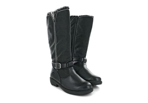 Womens Totes Maryliza Side Zip Boot Black