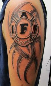 21 Cool Firefighter Tattoos – Desiznworld
