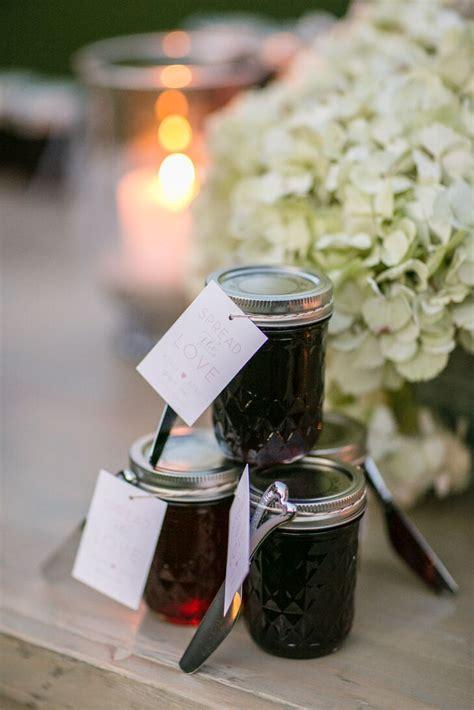 homemade beach plum jam favors