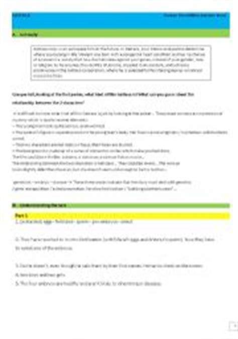 Gattaca Worksheets