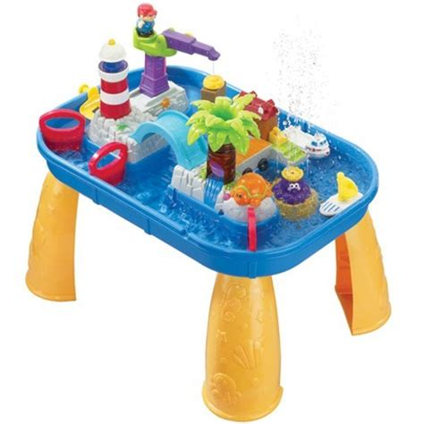 water table for kids pirate ship sand water play table educational toys planet
