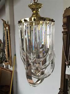 S italian lucite drop chandelier the savoy flea