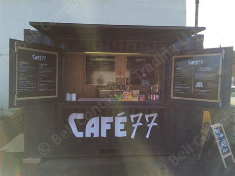 Tow Light Bar by Shipping Container Cafes For Sale Conversions London