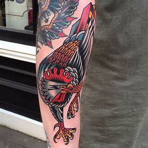Angry Rooster tattoo | Best Tattoo Ideas Gallery