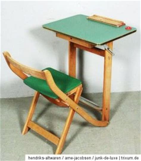 retro student rolling desk chair on popscreen