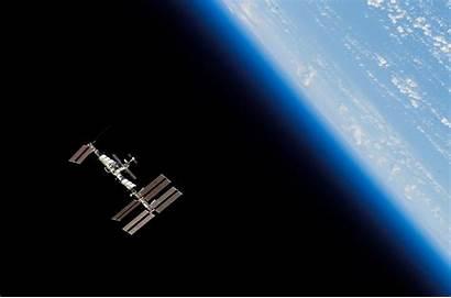 Iss Space Orbit Station Background 4k Praia