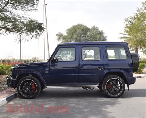 New and used luxury cars for sale by selected dealers around the world (id: BRAND NEW MERCEDES-BENZ G63- 2020- BLUE- GCC SPECS