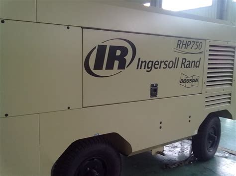ingersoll rand doosan portable compressor compressor air compressor rhp750 photos