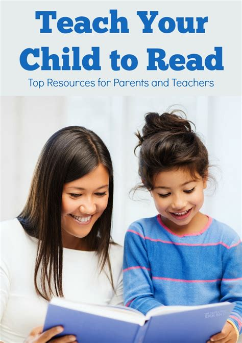 teach my child to read resources for parents the 417 | reading