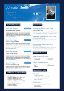 modern resume indesign template templates trytemplates